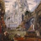 Le Triomphe d'Alexandre Le Grand, huile sur toile