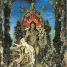 Jupiter et Sémélée, huile sur toile